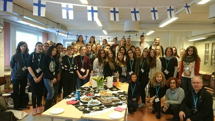 finland group photo